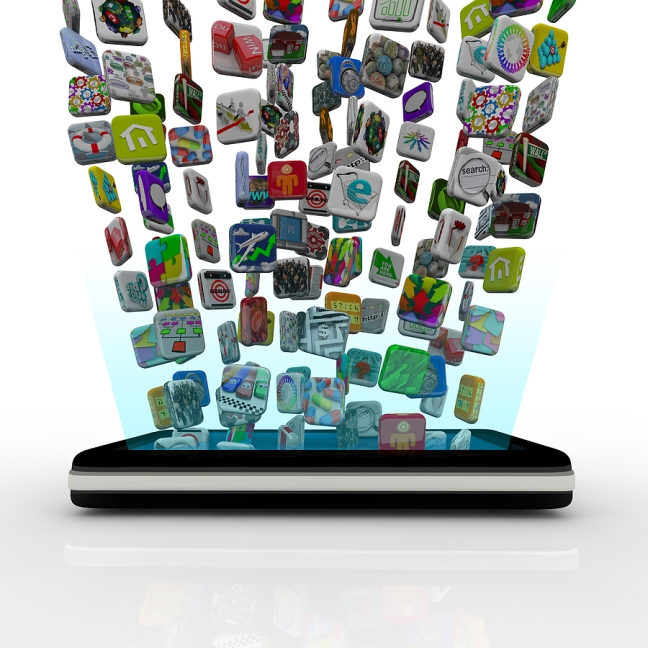 bigstock_app_icons_downloading_into_sma_12353408