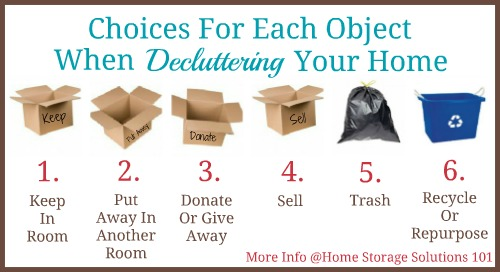 how-to-declutter-choices-collage